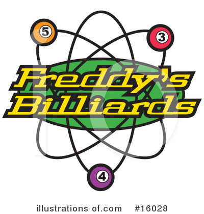 Billiards Clipart #16028 by Andy Nortnik