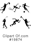 Royalty-Free (RF) Sports Clipart Illustration #19874