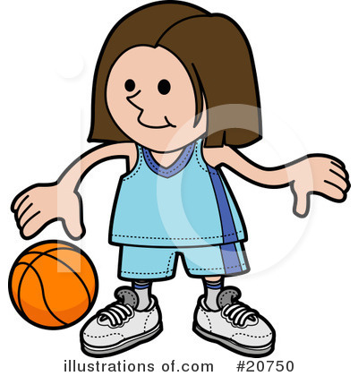 Basketball Clipart #20750 by AtStockIllustration
