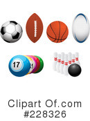 Royalty-Free (RF) Sports Clipart Illustration #228326