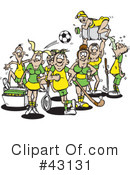 Sports Clipart #43131 by Dennis Holmes Designs