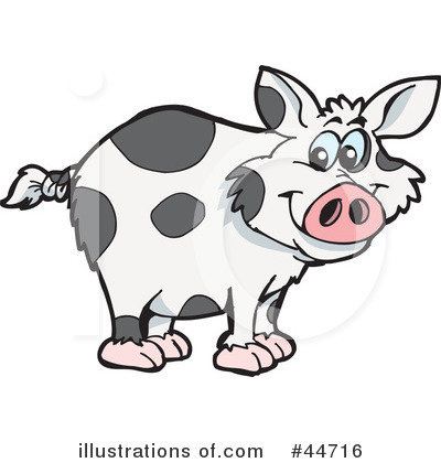 Boar Clipart #44716 by Dennis Holmes Designs