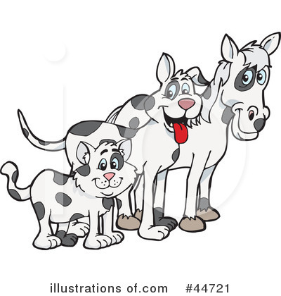 Royalty-Free (RF) Spotted Animal Clipart Illustration by Dennis Holmes Designs - Stock Sample #44721