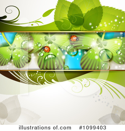 Royalty-Free (RF) Spring Background Clipart Illustration by merlinul - Stock Sample #1099403