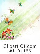 Royalty-Free (RF) Spring Background Clipart Illustration #1101166
