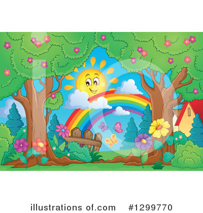 Rainbow Clipart #1299770 by visekart