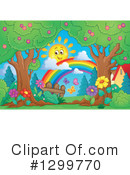 Royalty-Free (RF) Spring Clipart Illustration #1299770