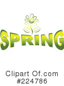 Royalty-Free (RF) Spring Clipart Illustration #224786