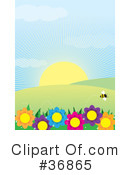 Royalty-Free (RF) Spring Clipart Illustration #36865