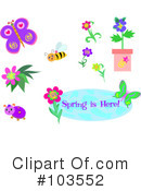Royalty-Free (RF) Spring Time Clipart Illustration #103552