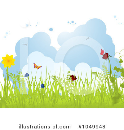 Royalty-Free (RF) Spring Time Clipart Illustration by elaineitalia - Stock Sample #1049948