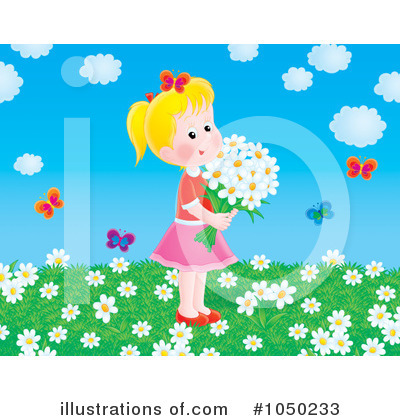 Wildflowers Clipart #1050233 by Alex Bannykh