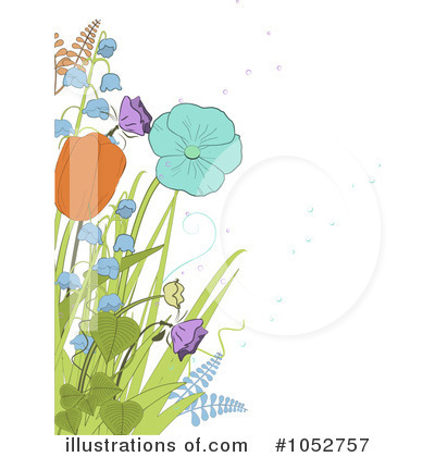 Royalty-Free (RF) Spring Time Clipart Illustration by Elaine Barker - Stock Sample #1052757