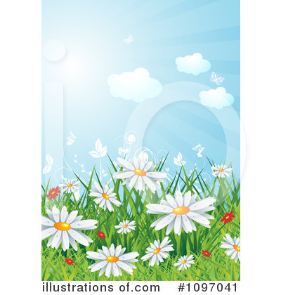 Daisy Clipart #1097041 by MilsiArt