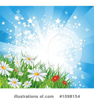 Flowers Clipart #1098154 by MilsiArt