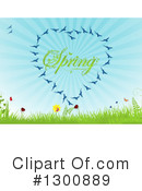 Royalty-Free (RF) Spring Time Clipart Illustration #1300889