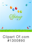 Royalty-Free (RF) Spring Time Clipart Illustration #1300890