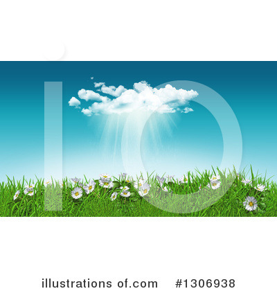 Royalty-Free (RF) Spring Time Clipart Illustration by KJ Pargeter - Stock Sample #1306938