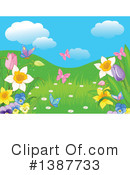 Royalty-Free (RF) Spring Time Clipart Illustration #1387733