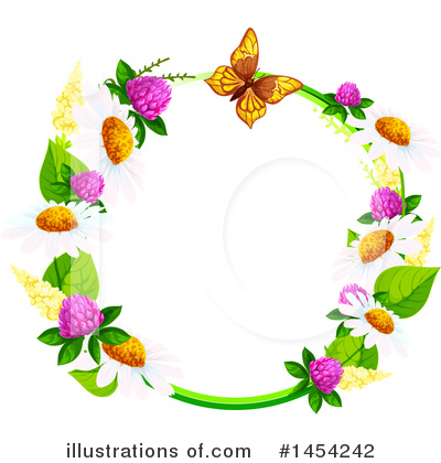 Daisy Clipart #1454242 by Vector Tradition SM