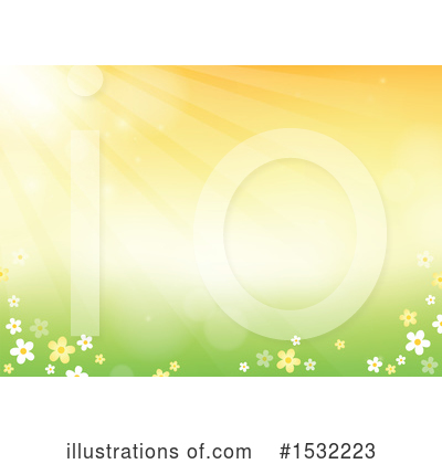 Royalty-Free (RF) Spring Time Clipart Illustration by visekart - Stock Sample #1532223
