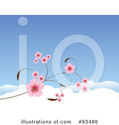 Cherry Blossoms Clipart #93486 by Pushkin