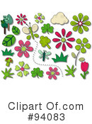 Royalty-Free (RF) spring time Clipart Illustration #94083