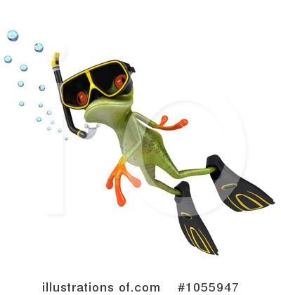 Royalty-Free (RF) Springer Frog Clipart Illustration by Julos - Stock Sample #1055947