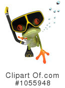 Royalty-Free (RF) Springer Frog Clipart Illustration #1055948