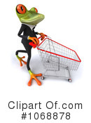 Springer Frog Clipart #1068878 by Julos