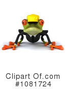 Springer Frog Clipart #1081724 by Julos