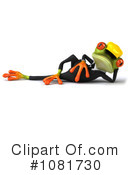 Springer Frog Clipart #1081730 by Julos