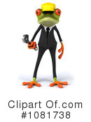 Springer Frog Clipart #1081738 by Julos
