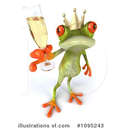 Frog Prince Clipart #1095243 by Julos