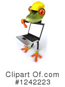 Springer Frog Clipart #1242223 by Julos