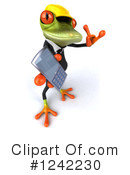 Springer Frog Clipart #1242230 by Julos