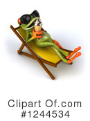 Springer Frog Clipart #1244534 by Julos