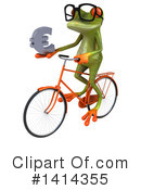 Springer Frog Clipart #1414355 by Julos
