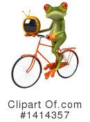 Springer Frog Clipart #1414357 by Julos