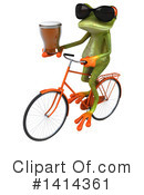 Springer Frog Clipart #1414361 by Julos