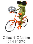 Springer Frog Clipart #1414370 by Julos
