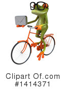 Springer Frog Clipart #1414371 by Julos