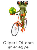 Springer Frog Clipart #1414374 by Julos