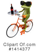 Springer Frog Clipart #1414377 by Julos