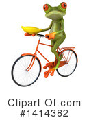 Springer Frog Clipart #1414382 by Julos