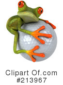 Royalty-Free (RF) Springer Frog Clipart Illustration #213967