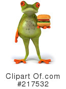 Royalty-Free (RF) Springer Frog Clipart Illustration #217532
