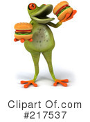 Royalty-Free (RF) Springer Frog Clipart Illustration #217537