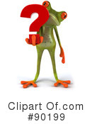 Royalty-Free (RF) Springer Frog Clipart Illustration #90199