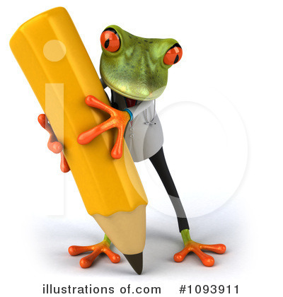Doctor Frog Clipart #1093911 by Julos
